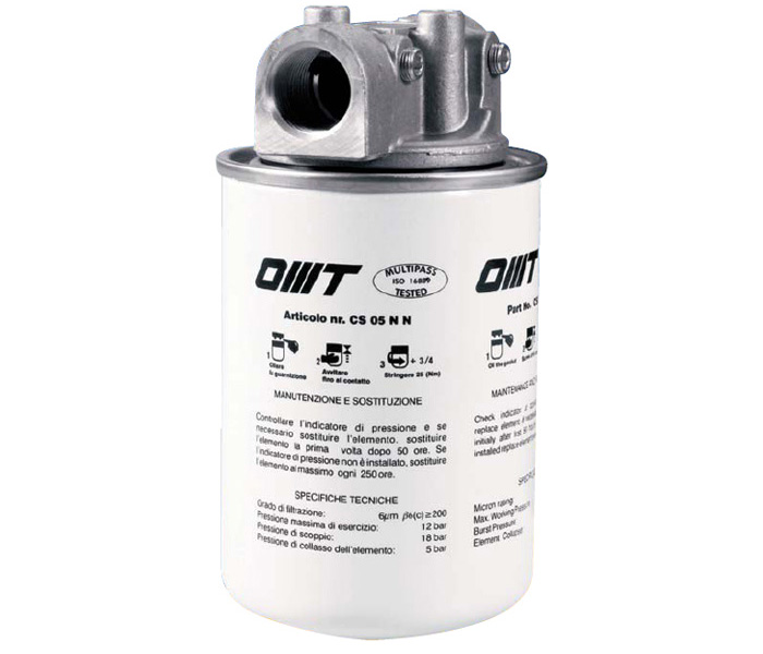 OMTI - Hydraulic Section Filters