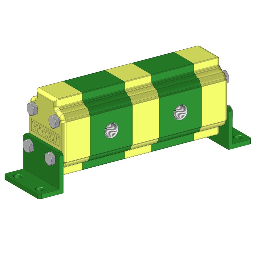 Hydraulic Gear Flow Divider - Gr. 1 / 0.91 – 9.88 cm3/rev - RV-1D – FLOW DIVIDER WITHOUT VALVES
