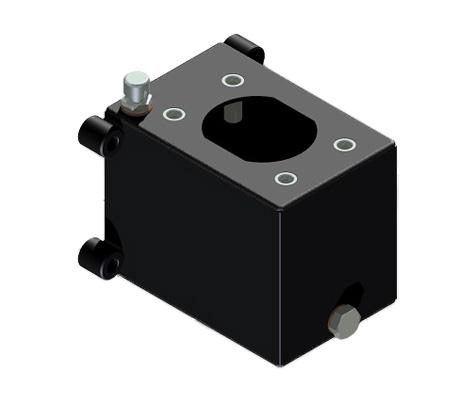 Hydraulic steel oil tanks for hand pumps - HV Hydraulic
