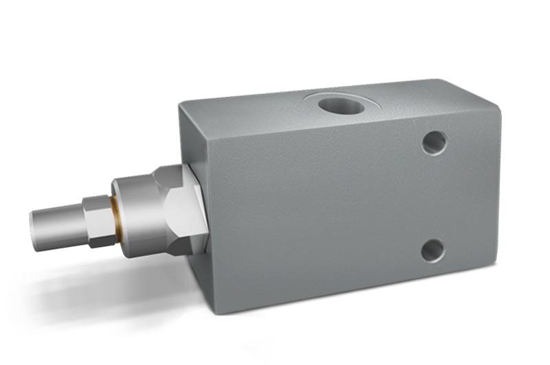 VBCD DE 3 VIE - Hydraulic 3 WAY Single Counterbalance valves for open center