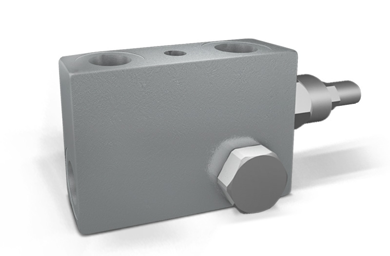 VBCD DE FLV - Hydraulic Double Counterbalance valves for open center - FIXING BY SCREW