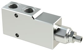 VBCL - Hydraulic Single Counterbalance valves for open center