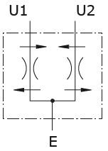 Hydraulic scheme - Flow Divider