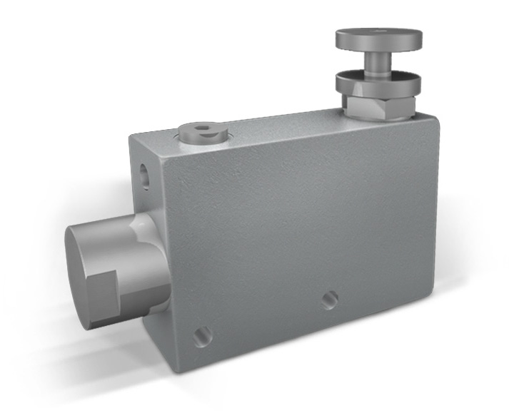 VPR3 - Hydraulic 3 WAYS FLOW CONTROL VALVES – EXCEEDING FLOW TO PRESSURE