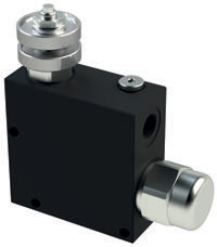 VPT - Hydraulic 3 WAYS Flow Controlo Valves - Pressure Compensated, Exceedind Flow to Tank