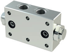 VRDF - Hydraulic Double acting pilot check valves - Flanged version