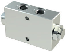VRDL - Hydraulic Double acting pilot check valves