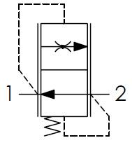 Hydraulic scheme - Adjustable Flow Control Valves – PRESSURE COMPENSATED
