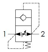 Hydraulic scheme - In-Line Check Valves