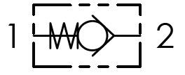 Hydraulic scheme - In-Line check valves<br /></noscript>