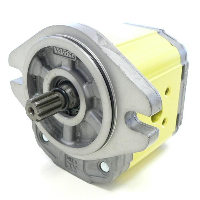 Hydraulic Gear Pumps - Gr.2 - XP219 - ø82.5 FLANGE – SPLINED SHAFT