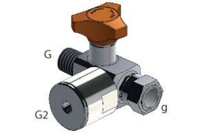 ES180G12LZ - Anti-shock valve 90° connection