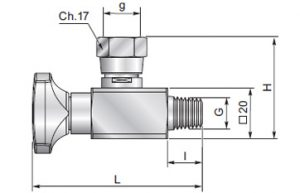 ES090LZ - Anti-shock valve swivel straight connection