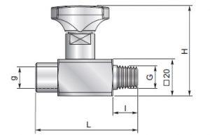 ES18F - Anti-shock valve 3-way connection