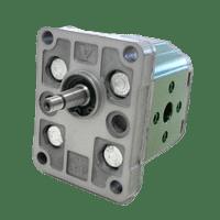 Hydraulic Gear Pumps - Gr.1 - ø25,4 FLANGE - TAPER SHAFT
