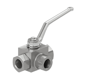 Hydraulic 3-WAY High Pressure Ball Valves