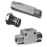 Hydraulic check valves