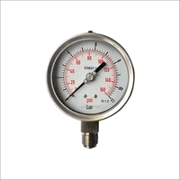 D100 - Hydraulic Pressure Gauges With Glycerin