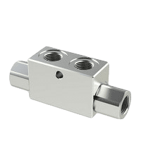 Hydraulic check valves - double pilot