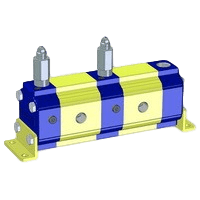 Hydraulic Gear Flow Dividers