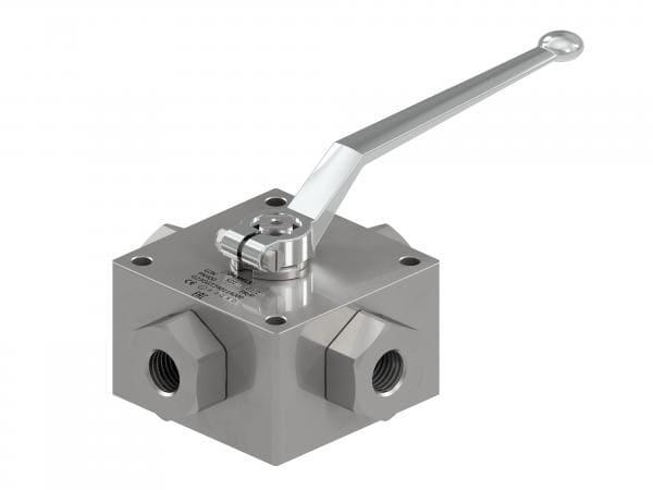 G3K - Hydraulic 3-WAY High Pressure Ball Valves