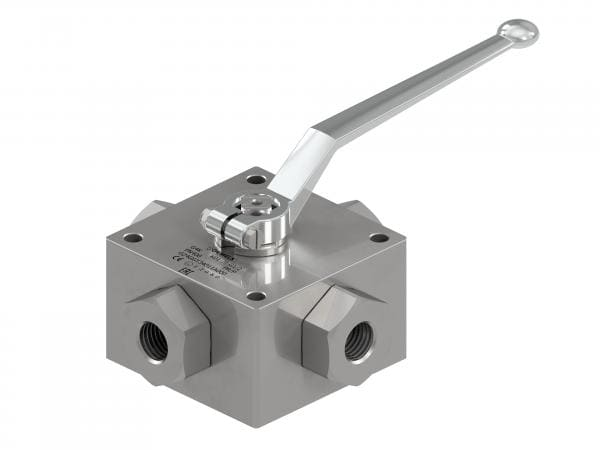 G4K - Hydraulic 4-WAY High Pressure Ball Valves