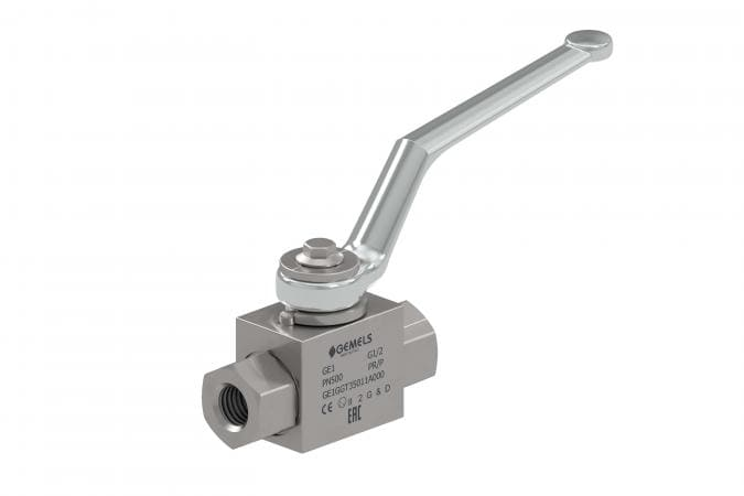 GE1 - Hydraulic 2-WAY High Pressure Ball Valves