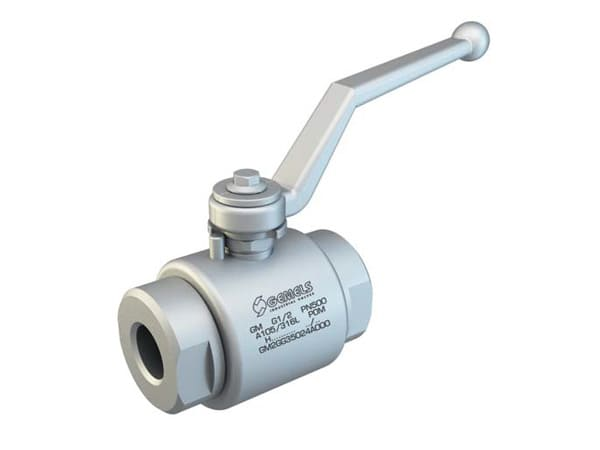 GM2 - Hydraulic 2-WAY High Pressure Ball Valves