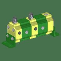 Hydraulic Gear Flow Divider - Gr. 1 / 0.91 – 9.88 cm3/rev