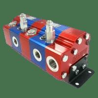 Hydraulic Gear Flow Divider - Gr. 3 / 14.89 – 86.87 cm3/rev