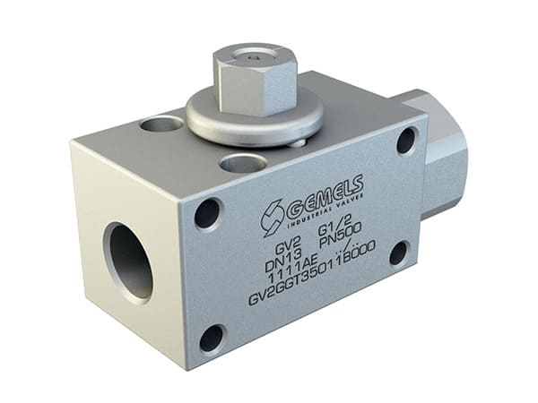 GV2 - Hydraulic 2-WAY High Pressure Ball Valves