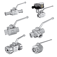 Hydraulic High Pressure Ball Valves