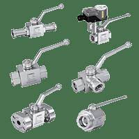 Hydraulic High Pressure Ball Valves
