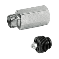 Hydraulic hose burst valves