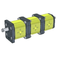 Hydraulic Multiple Gear Pumps