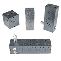 Hydraulic Manifolds & Connecting Plates - Cetop 3 / NG06