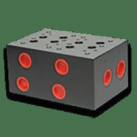 Hydraulic Monoblock Subplate - Cetop 8 / NG25