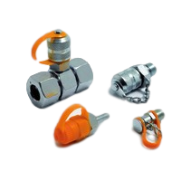 Test Couplings for Pressure Checking